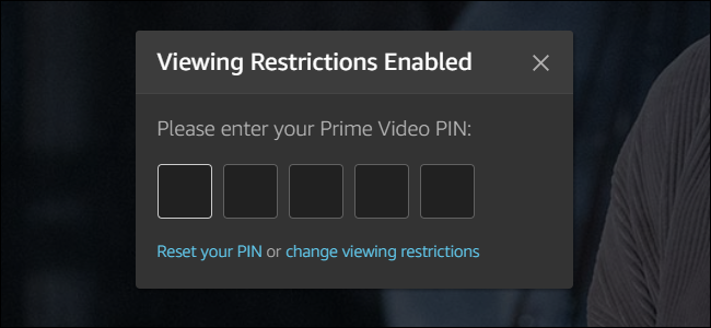 Cómo configurar el control parental de Amazon Prime Video