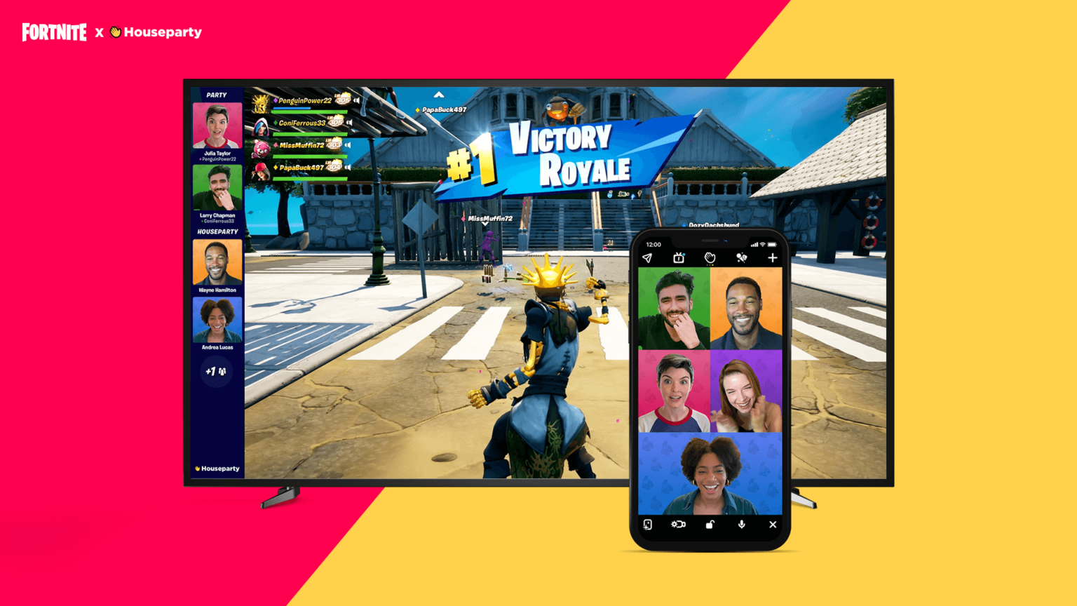 Fortnite agrega funcionalidad de video chat en el juego a través de la aplicación Houseparty para PC y PS4 / 5